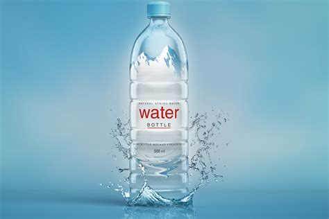 All free mockups include smart objects for easy edit. Plastic Psd Water Bottle Mockup   Psd Mock Up Templates ...