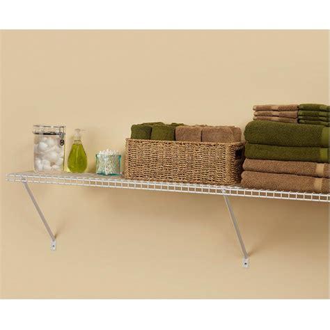 Closetmaid Shelf System by 12x48x12 In Ventilated Wire Shelf Steel Closet Organizer
