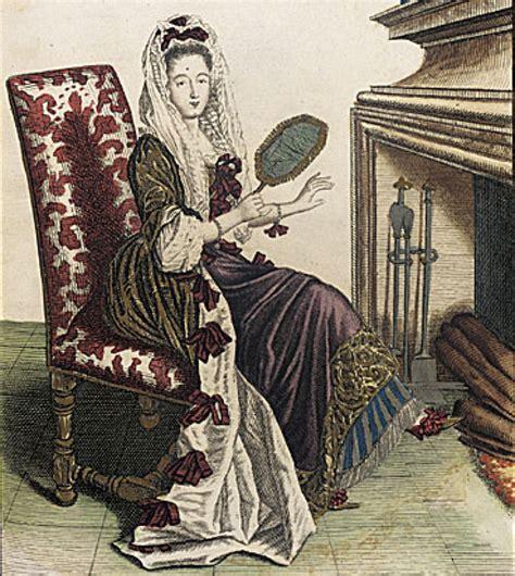 chambre de antoinette ca 1685 femme de qualite en robe de chambre d hyver