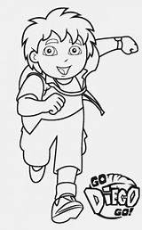 Coloring Pages Diego Go Printable Deadshot Template Templates sketch template