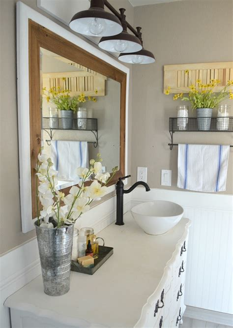 Modern Farmhouse Bathroom Decor by Honest Review Of My Chalk Painted Bathroom Vanities