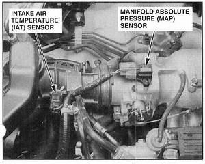 Location Of Intake Air Temperature Sensor On 2000 Honda