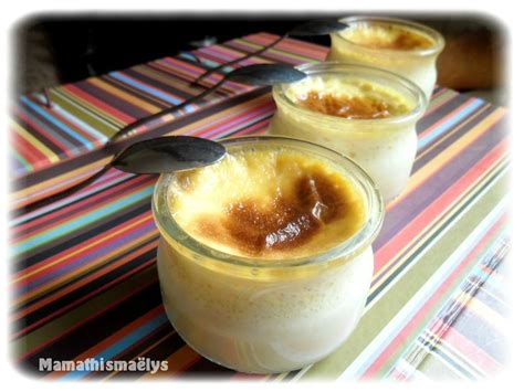 cuisine de nini petits pots de crème à la vanille la cuisine de