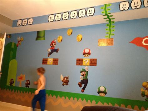 Super Mario Bros Room Cylers Room Pinterest Room