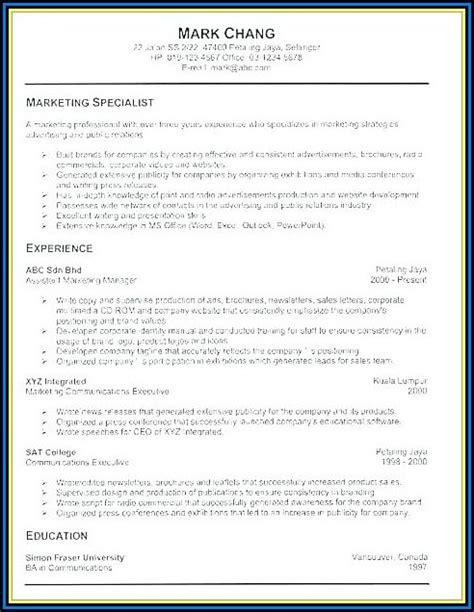 Resume Builder Login by Army Resume Builder Login Resume Resume Exles
