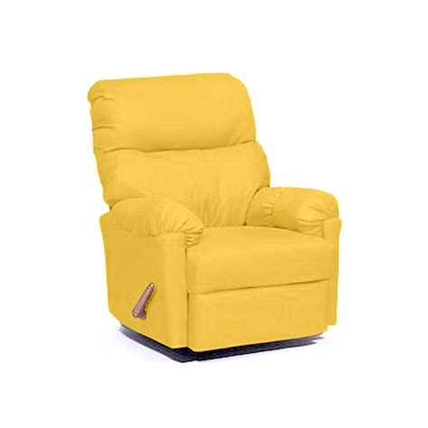 yellow recliner chair yellow arm chair sears deluxe