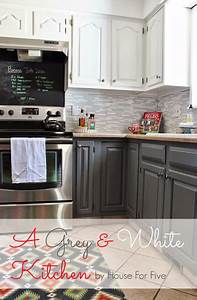 a gray and white kitchen cabinets upper swiss coffee With kitchen cabinets lowes with coffee wall art for kitchen