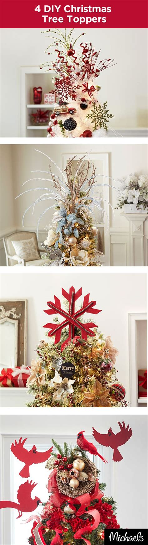 christmas tree toppers images  pinterest