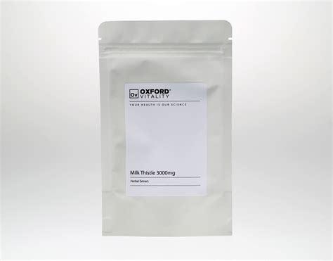 Milk Thistle 3000mg Tablets X 30 Liver Detox Silymarin