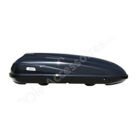 coffre de toit 460 litres travel noir pole accessoires