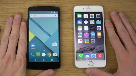 iphone to android nexus 5 android 5 0 lollipop vs iphone 6 ios 8 review