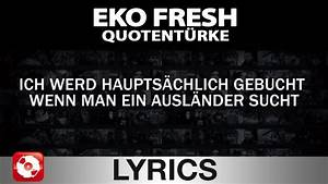 Eko Fresh Die Abrechnung Lyrics : eko fresh quotent rke aggro tv lyrics karaoke ~ Themetempest.com Abrechnung