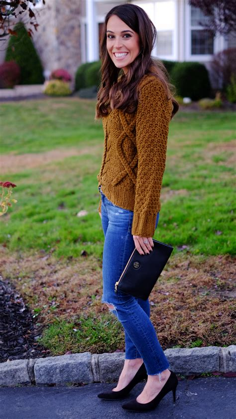 Cable Knit Sweater (Thanksgiving Outfit Idea)   MrsCasual