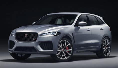 jaguar  pace svr unveiled   horsepower