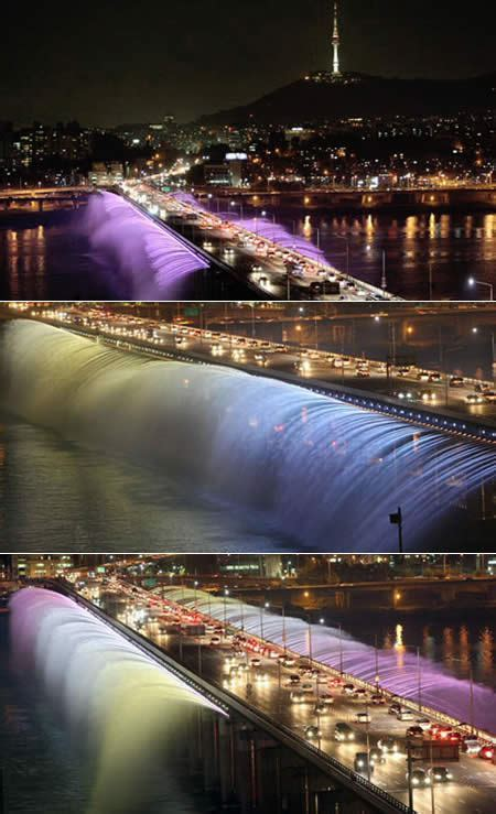 Banpo Fountainbridge South Korea