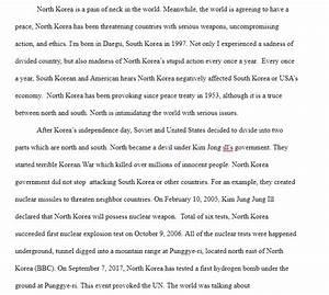 North Korea Essay Family Essay Ideas North Korea Essay Intro Maker  North Korea Essay Intros Thesis Statement For Education Essay also English Extended Essay Topics  Graduating From High School Essay