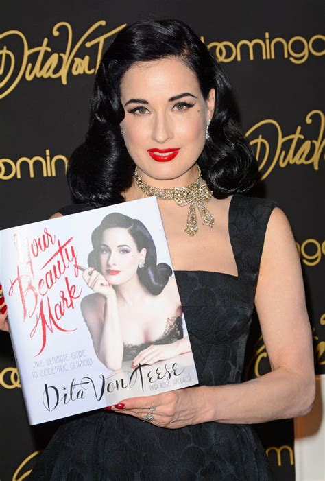 dita von teese new book dita von teese promotes her new book your beauty mark at