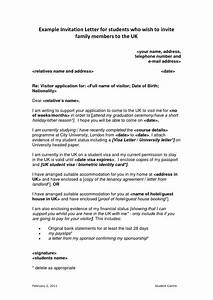 Letter of invitation for uk visa template for Invitation letter for visitor visa uk template
