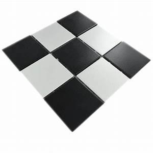 Küchenboden Schwarz Weiß : keramikmosaik fliese schwarz weiss matt tm33260m ~ Sanjose-hotels-ca.com Haus und Dekorationen