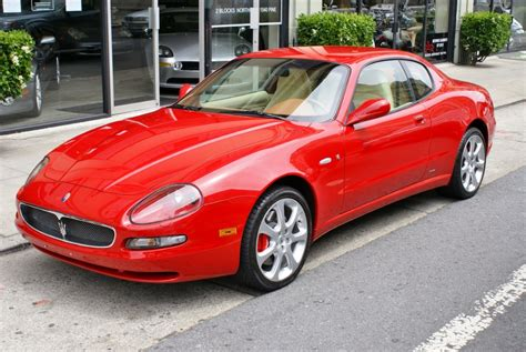 2004 Maserati Coupe Cambiocorsa Stock # 130517 For Sale