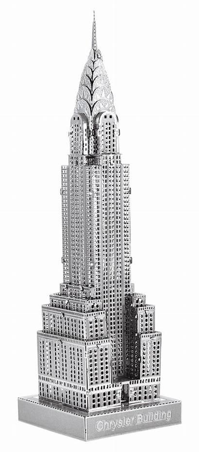 Building Chrysler Premium Earth Metal Innovatoys Scale