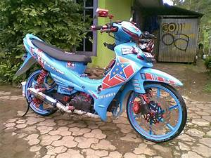 Motor Modifikasi Indonesia  Jupiter Z 2004
