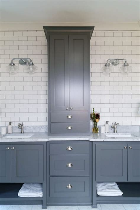 London Subway Tiles Bathroom Contemporary With Shower Tile