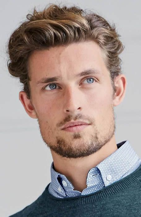 1950s Mens Hairstyles For Curly Hair by S Wavy Quiff Hairstyle Sa 231 In 2019 Wavy Hair