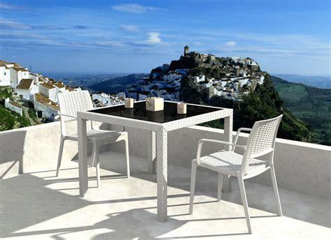 fauteuil pour 2 personnes salon de jardin pour 2 personnes en r 233 sine tress 233 e achatdesign