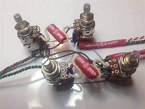 Gibson Les Paul Push  Pull Wiring Harness 21 Tone Jimmy