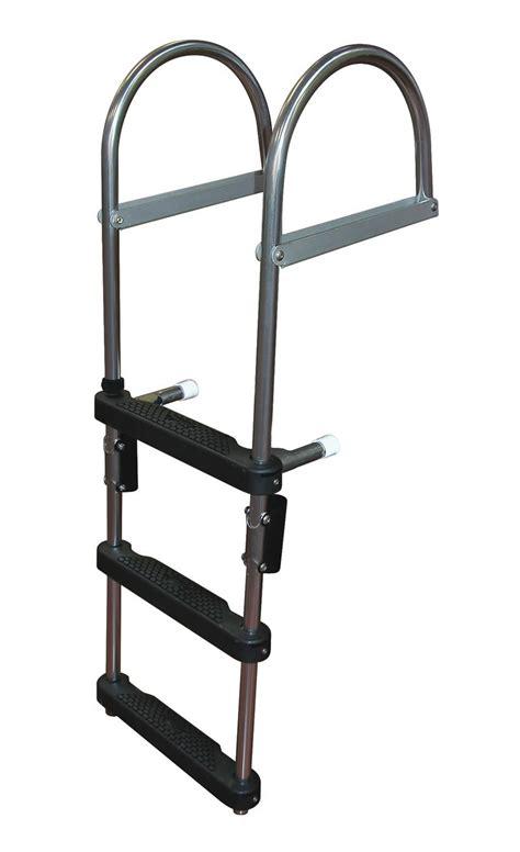 Boat Ladder by 4 Step Pontoon Transom Boarding Ladder Pontoon Boarding