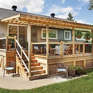 Rallonge trois saisons pour le patio Patio Inspirations Jardinage et extérieur Pratico