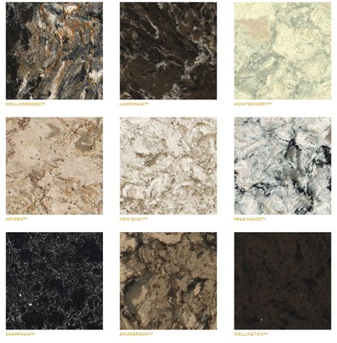 cambria countertops colors cambria quartz countertops waterstone collection