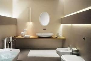 Beige Fliesen Bad : beige wandfarbe 40 farbgestaltungsideen mit der ~ Watch28wear.com Haus und Dekorationen