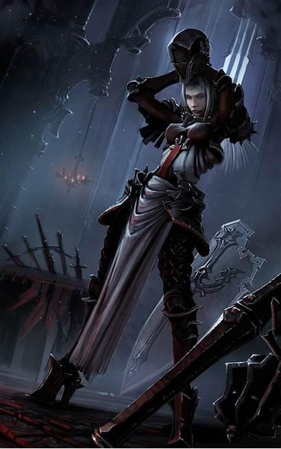 Crusader Diablo Crusaders Deviantart Fantasy Armor Iii