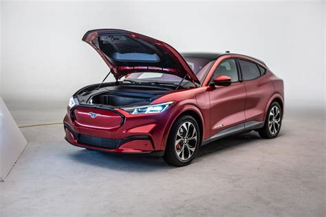 ford mustang mach  electric suv revealed