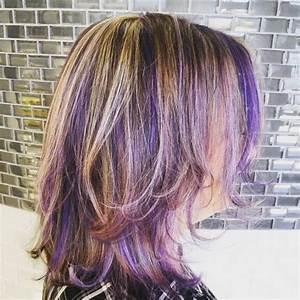 55 Lustrous Purple Hair Color Ideas Feel Like A Queen