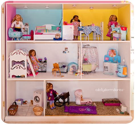 55 Inch Vanity Top by Dolly Dorm Diaries American Doll House Doll Diaries