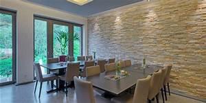 Natursteinfliesen Wand Wohnzimmer : blickfang im trend ~ Sanjose-hotels-ca.com Haus und Dekorationen