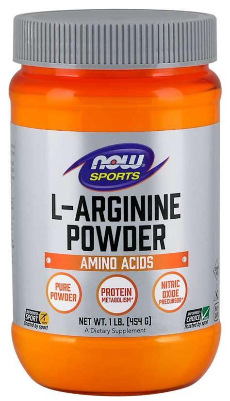 L-Arginine Powder | Arginine Powder | NOW Sports