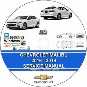 Chevrolet Malibu 2016 2017 2018 2019 Service Repair Manual