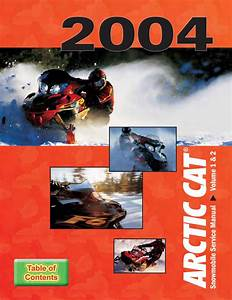2004 Arctic Cat Pantera 800 Efi Snowmobile Service Repair