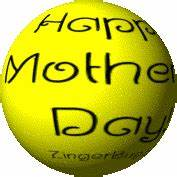Happy Mother's Day Spinning Smile Glitter Graphic ...