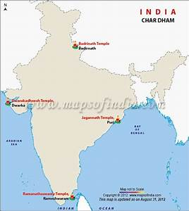 Map of Char Dha... India Map Quotes