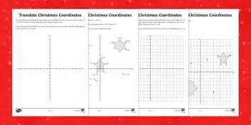 year 6 draw on the coordinates grid worksheet