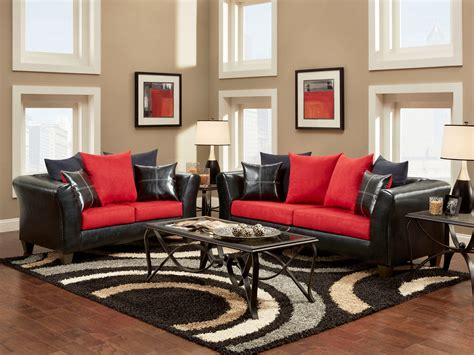 11 Most Glamorous Red Living Room Ideas