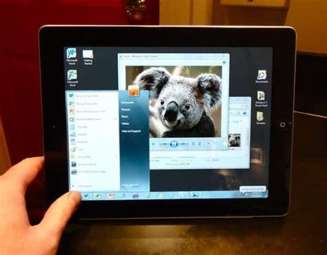 hands  onlive desktop brings windows    ipad