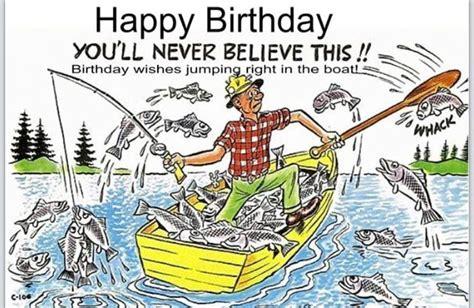 Pin by Grammie Newman on Birthday | Happy birthday fishing ...
