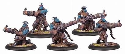 Hordes Miniatures Privateer Trollkin Press Sluggers Trollbloods