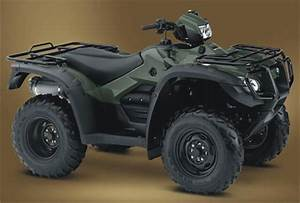 2012 Honda Fourtrax Foreman Rubicon 500 Ps Specifications